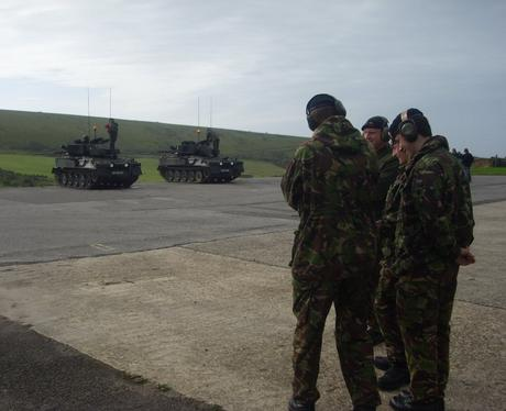 Soldiers Training at Lulworth