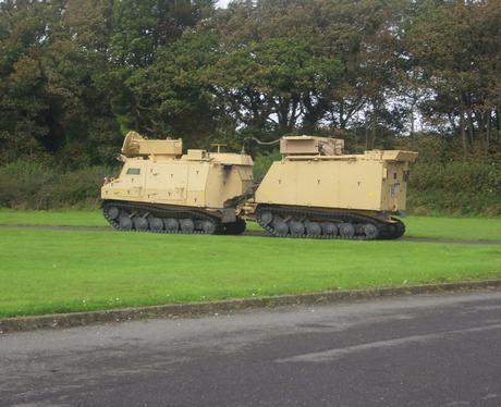 Training at The Defense Estates Range in Lulworth