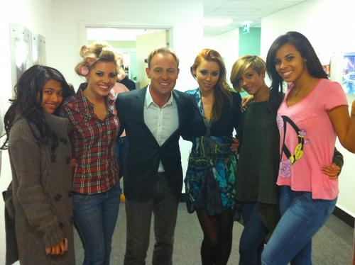 Jason Donovan and The Saturdays