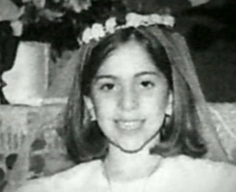 Lady gaga at a young age