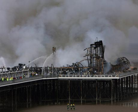 Lookback: Weston Pier Fire