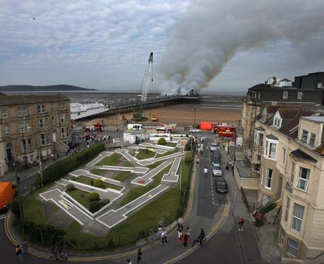 Lookback: Weston Pier Fire