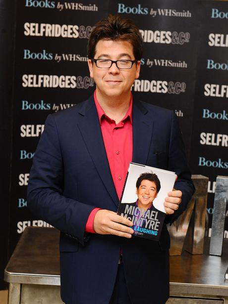 Michael McIntyre book signing