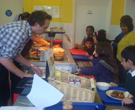 School Dinners at New Town School