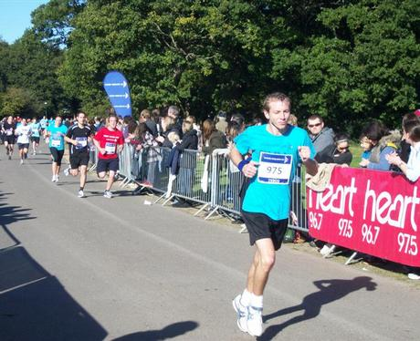10K Run on Southampton Common