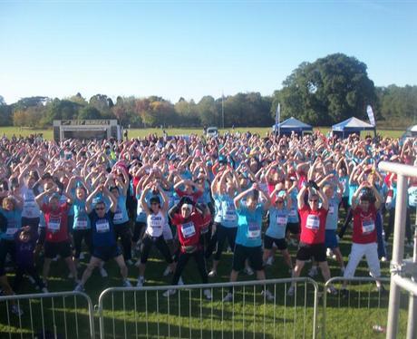 10K Run on Southampton Common