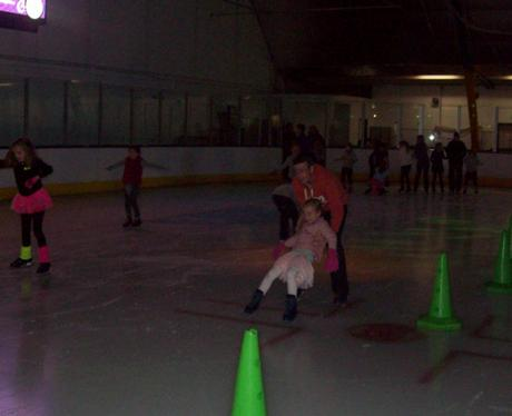 Skating Fun at Riverside Ice & Leisure, Chelmsford