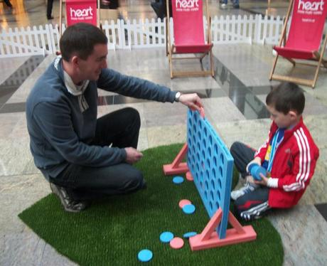 Heart and Vodafone at West Quay Southampton