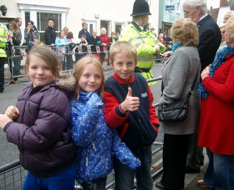 The Queen Comes To Maldon