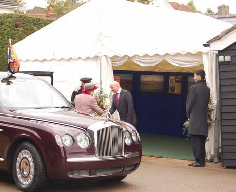 The Queen visits Maldon Salt Company