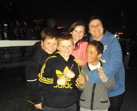 Fun at the Fireworks 5
