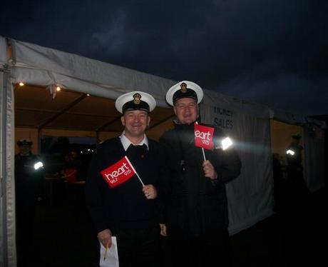 HMS Sultan Fireworks Gosport