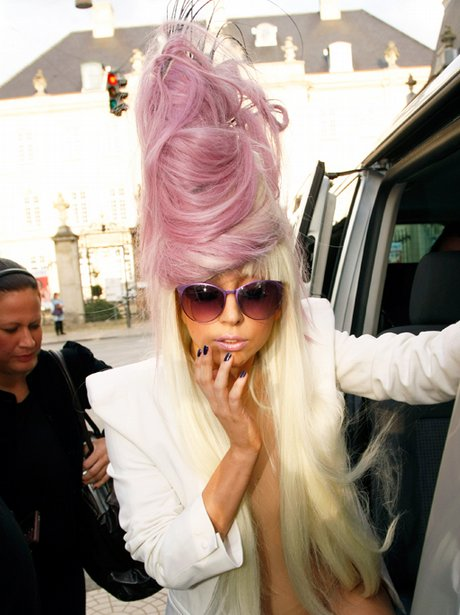 Lady Gaga at Polaroid