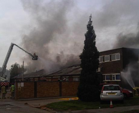 Fire at Manor Royal Nov 4th