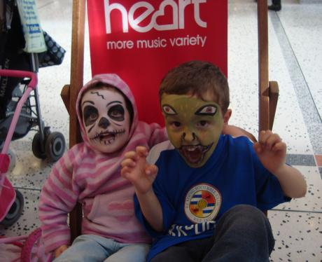 Princess Square Halloween Fun