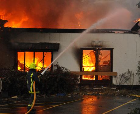 Clock Hotel Fire
