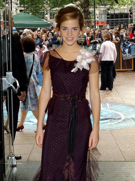 Emma Watson At The Harry Potter And The Goblet Of Fire Premiere Changing Styles Heart