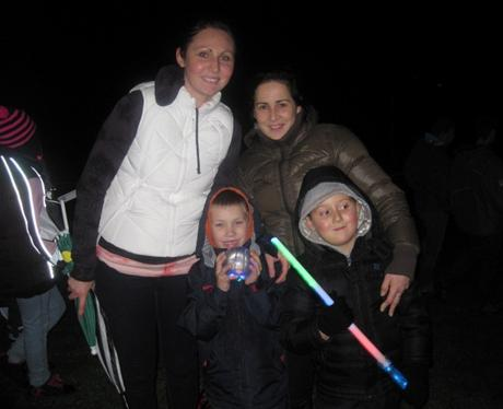 Fairlands Valley Park Fireworks in Stevenage