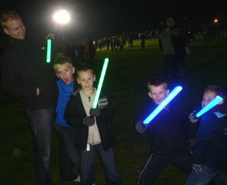 Luton Popes Meadow Fireworks