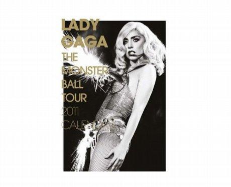 Celebrity calendars 2011: Lady Gaga