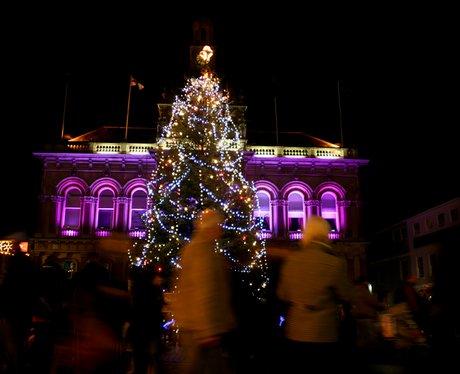 Ipswich Central Christmas Lights - Heart Suffolk