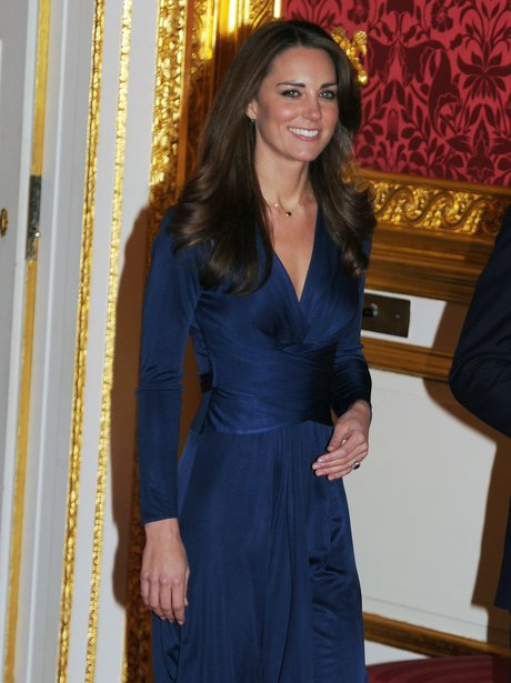 kate middleton at the royal engagement press day