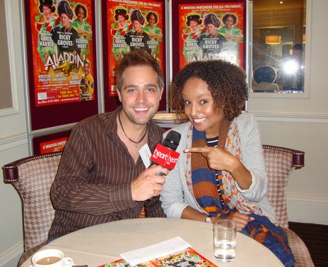 Tim with Gemma Hunt