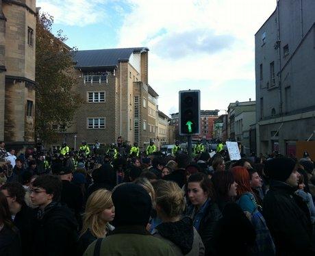 Bristol Student Protest 11
