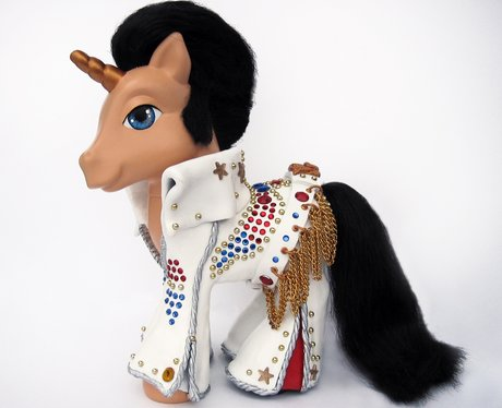 Elvis Presley White Jumpsuit My Little Pony
