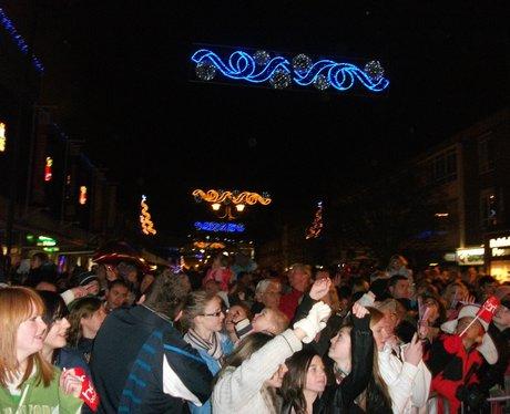 Hemel Christmas Light Switch On 2010