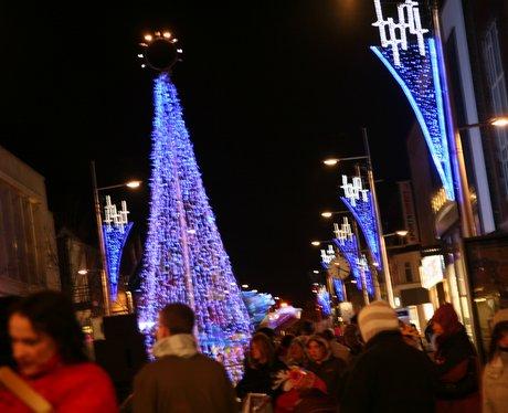 Lowestoft Christmas lights