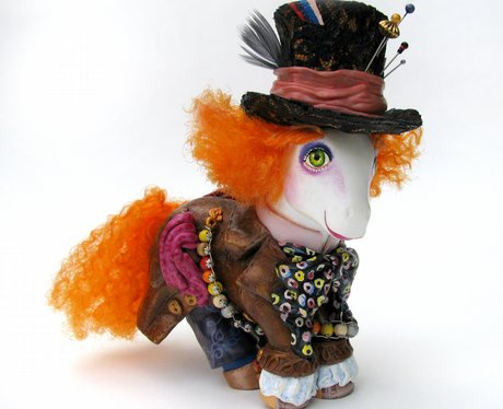 Johnny Depp as Mad Hatter in Alice in Wonderland M