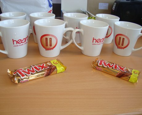 Twix and Tea at John Radcliffe Hospital