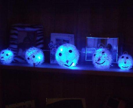 Hannacott Xmas Lights