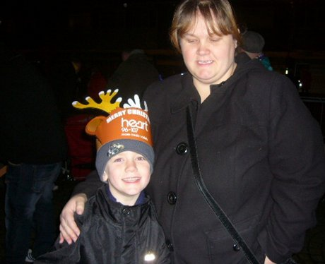 Hatfield Town Centre Christmas Lights