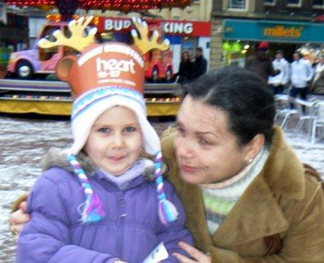 Santa Bus in Northampton Market Square