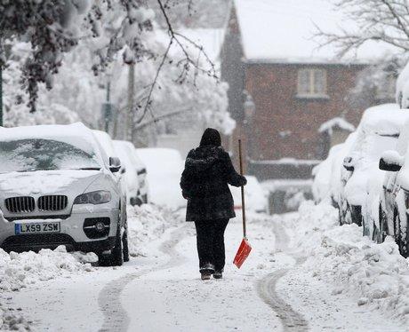 Snow in Kent