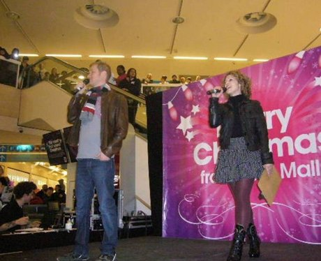 The Mall Christmas Light Switch in Luton