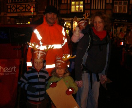 Wantage Christmas light switch on