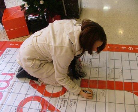 Broadwalk Shopping Centre at Christmas
