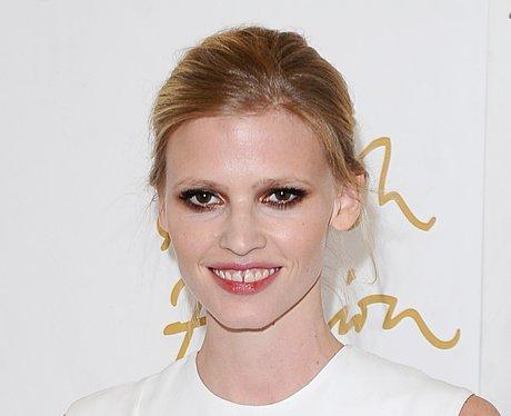 Lara Stone smiling