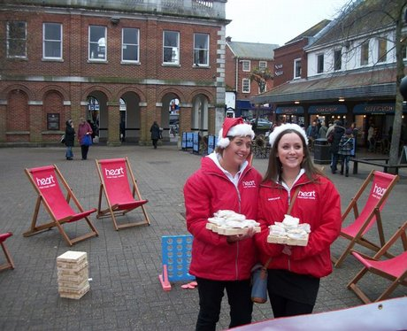 Christmas at Saxon Square in Christchurch