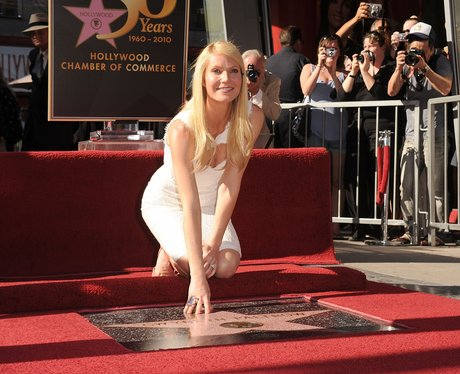 gwyneth paltrow on The Hollywood Walk of Fame
