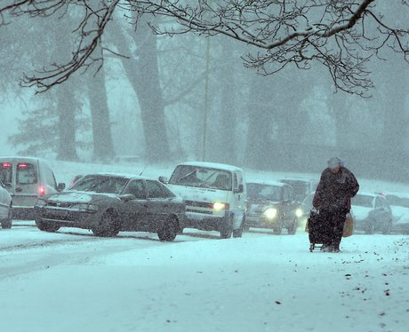 Snow storm in Hemel
