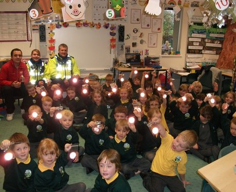 Operation Guardian Reflectors in Northampton