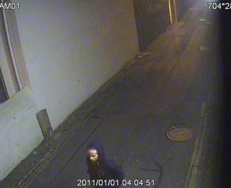 Still from New Years day CCTV footage