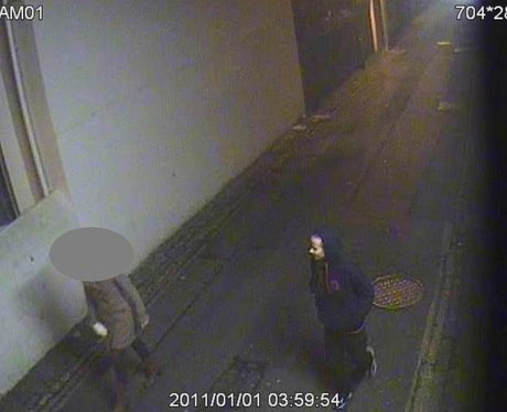 Did you see this man in the early hours of New Years Day?