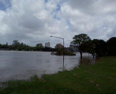 Flooding in Brisbane 2