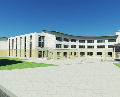 3D image of new Canterbury College building