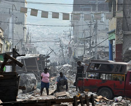 Haiti Shelterbox help